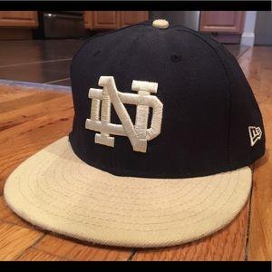 Notre Dame New Era Hat Men's 7 3/8